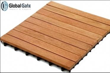 Nhà bếp có sử dụng sàn gỗ ngoài trời được không?
